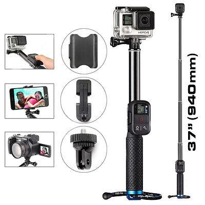 Extendable Telescopic Monopod Selfie Pole Handheld Stick for GoPro Hero 5 4 3 2