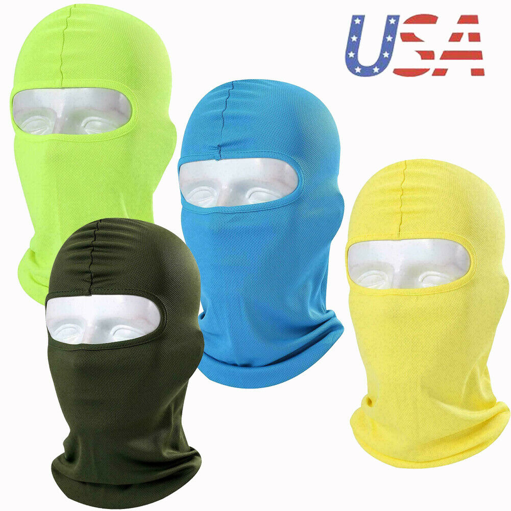 Summer Outdoor Balaclava Sun UV Full Face Mask Neck Hood Hea
