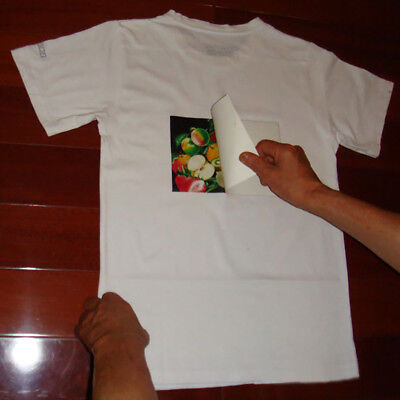 Heat Transfer Paper Sublimation Printing For Dark Cotton Fabric A4 10sheets