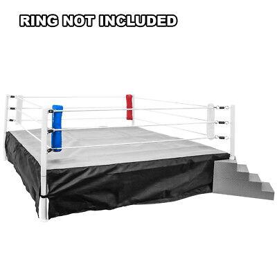 Pad Set Box (Set of 4 Wrestling Ring Corner Pads for Wrestling Figures: Red, White,)