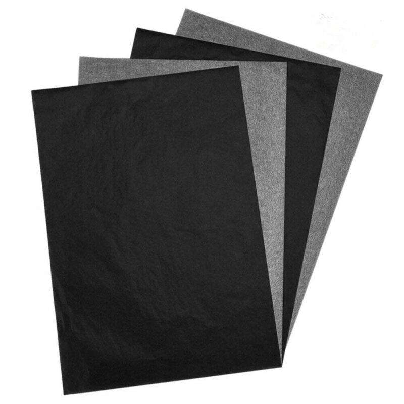 100 Sheets Carbon Transfer Graphite Paper Tracing Paper for Wood Paper