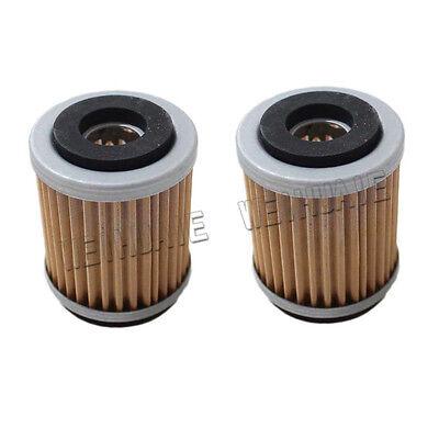 2x Oil Filter for Yamaha YFM230 YFM250 Big Bear Tracker Bruin YFB250 Timberwolf