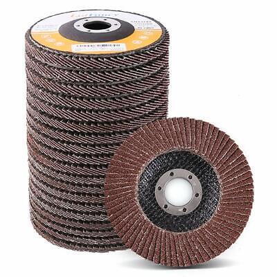 40 60 80 120 Grit 4.5x78 4 12 Aluminum Angle Grinder Flap Disc Sanding Wheel