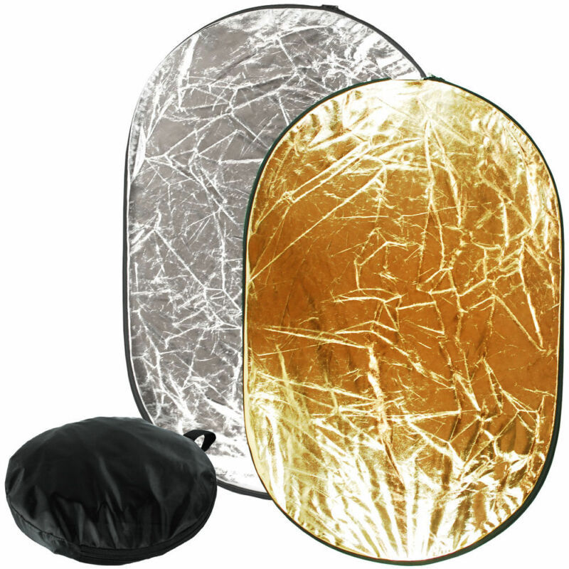 Photo Video Studio Collapsible Multi Lighting Reflector Set Photography Outdoor