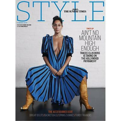 Uk Style Magazine March 2018  Tracee Ellis Ross Cover   Feature
