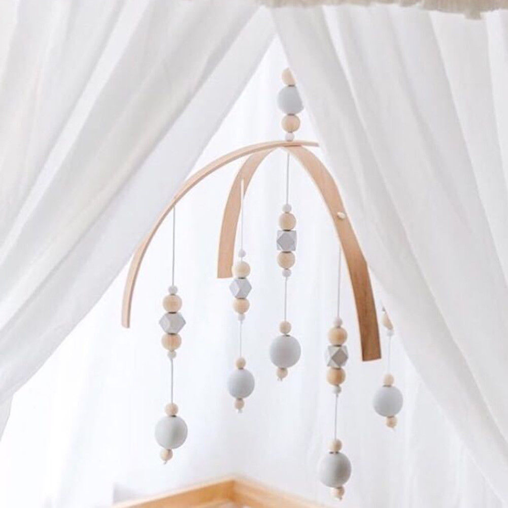 Baby Crib Mobile Bed Bell Diy Toy Holder Arm Bracket Wind Up
