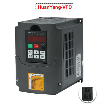 Updated 2.2kw 3hp Variable Frequency Drive Inverter Huanyang Vfd 220v 10a
