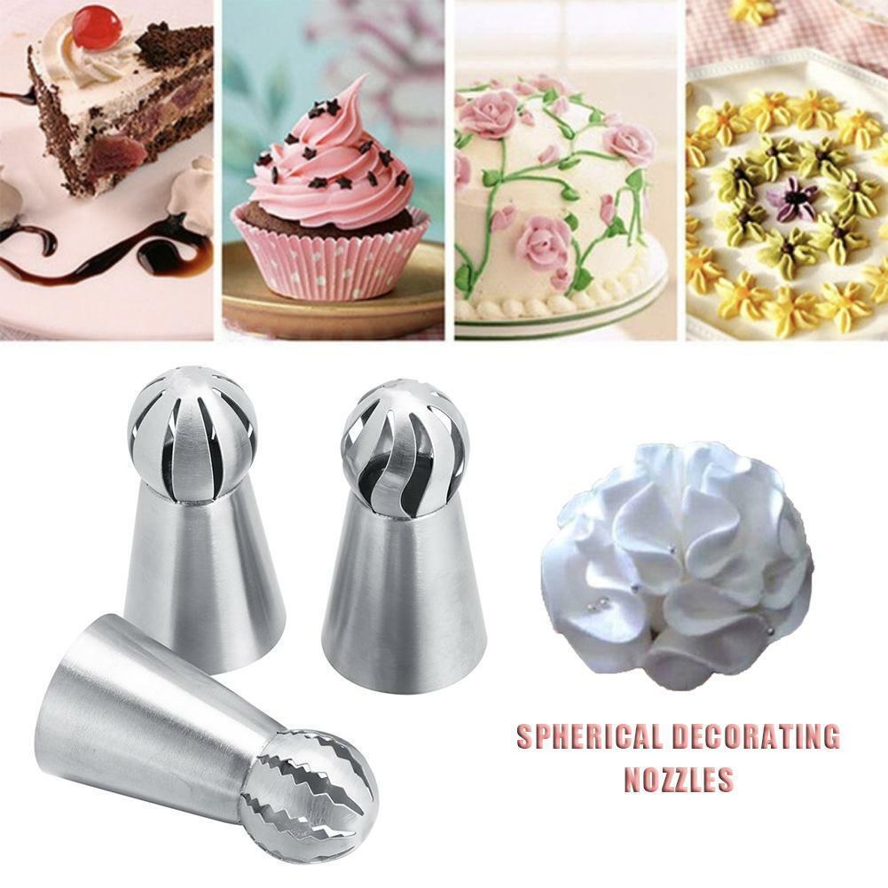 4pcs Cake Cupcake Stand Icing Cream Flower Nails Sugarcraft Decorating Tool UK