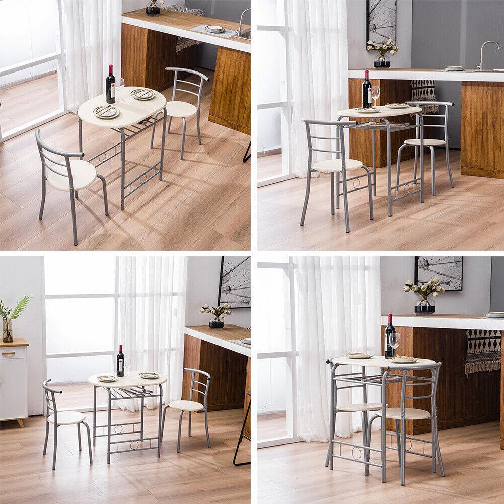 Dinner PVC Chairs Kitchen Breakfast Set