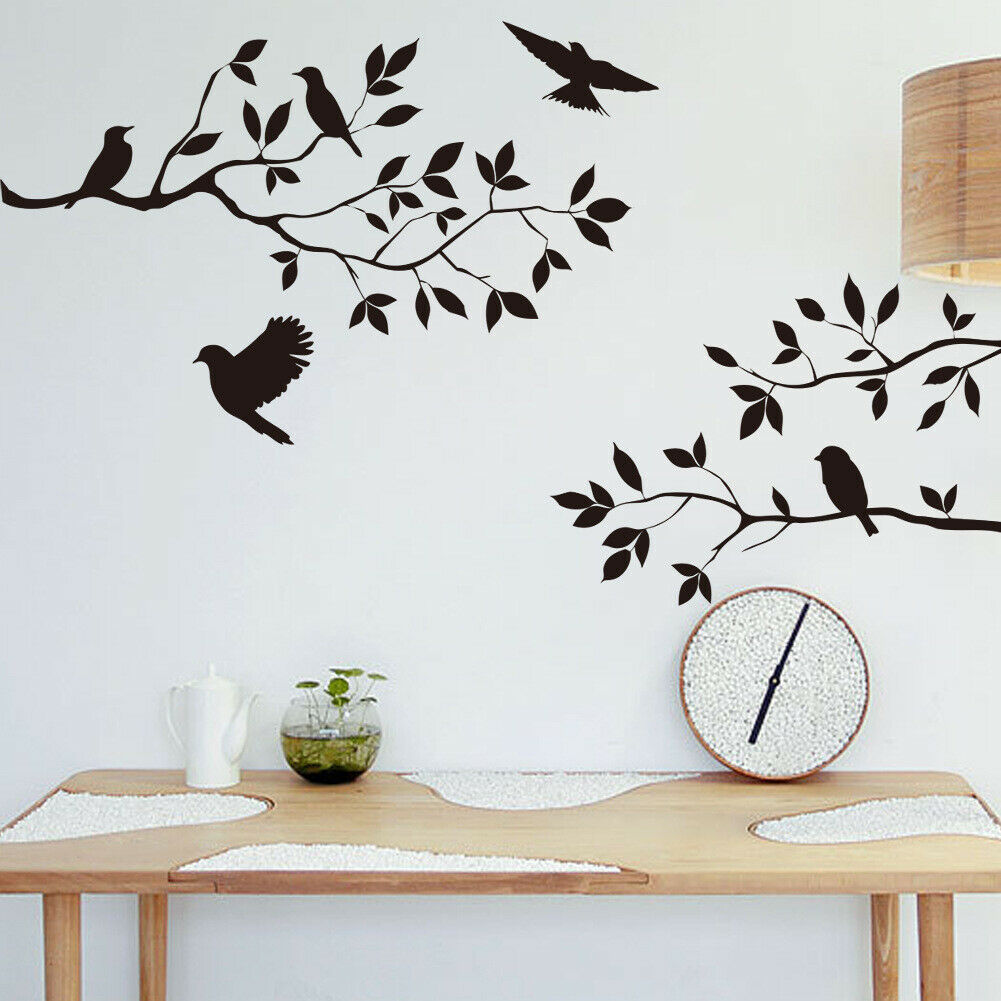 Home Decoration - Wall Sticker Home Decor Removable Art Vinyl Decal Birds AUS Stock Fast Post