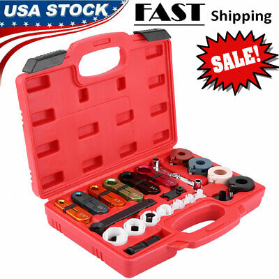 Fuel Pipe Disassemble Transmission Line Cooler Disconnect A/C Tool Kit for Ford
