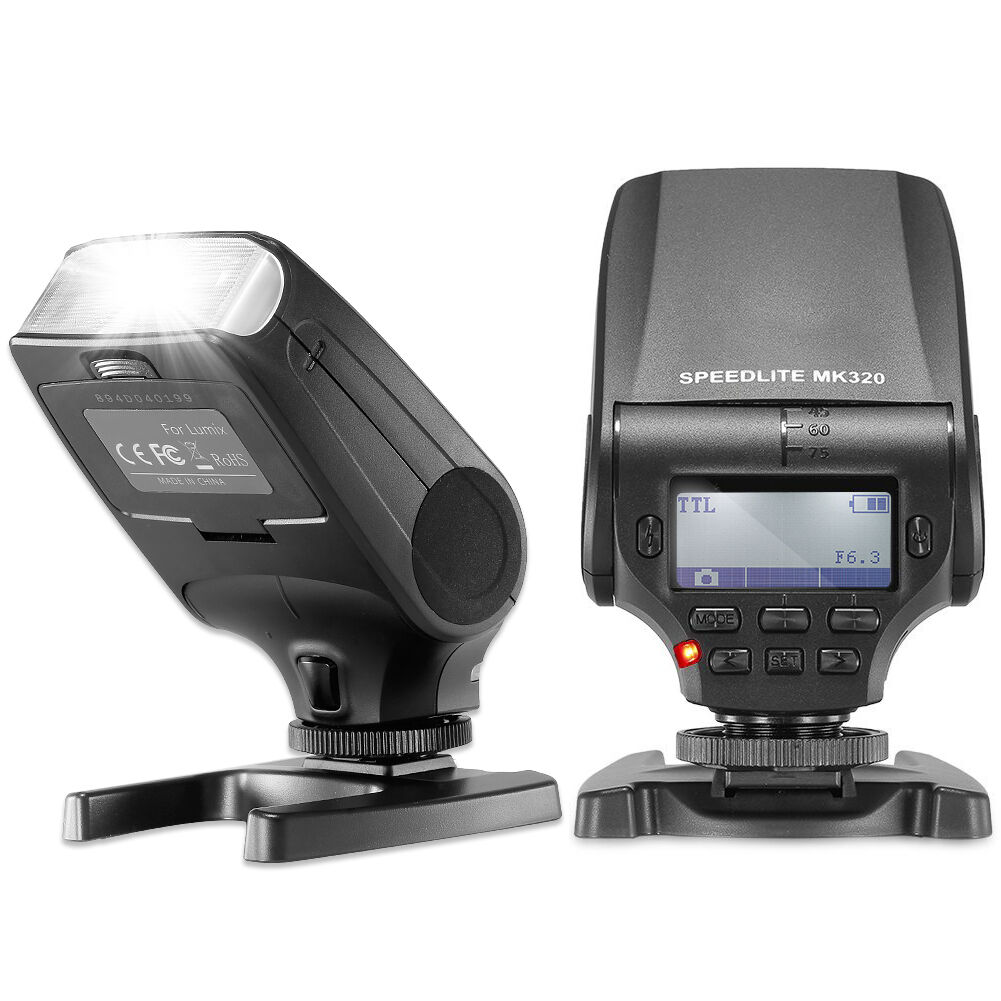 Neewer Nw320 Ttl Flash Speedlite For Olympus Om-d E-m5 Ii...