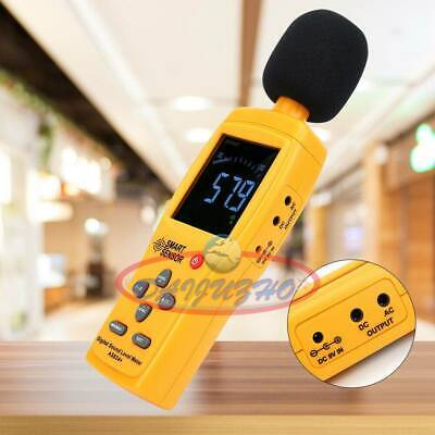 Smart Sensor Decibel Noise Meter Tester Lcd Digital Sound Pressure Level As834