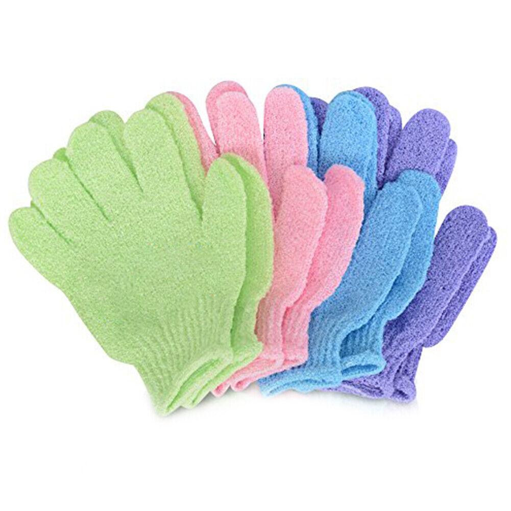 1 Parr Nylon Bath Cloth Towel Bath Shower Massage Gloves Gloves L//P