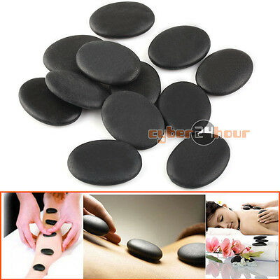 12pcs /set Hot Stone Massage Basalt Rocks 3*4cm Size Therapy Stone Pain Relief Hot Stone Massage Set
