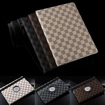 Ipad Mini Case - Luxury 360 Rotating Leather Case Smart Cover Stand for Apple iPad 2 3 4 Mini Air