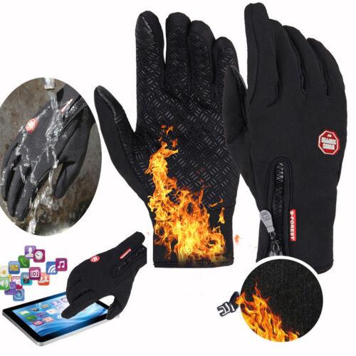 Winter Cycling Ski Outdoor Gloves Touch Screen Waterproof Wa