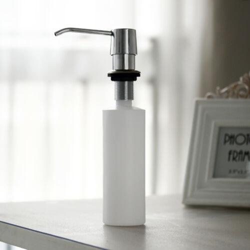 Kitchen Sink Soap Lotion Dispenser Stainless Steel Head