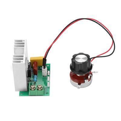 4000w 220v Ac Scr Motor Speed Controller Module Voltage Regulator Dimmer Highq
