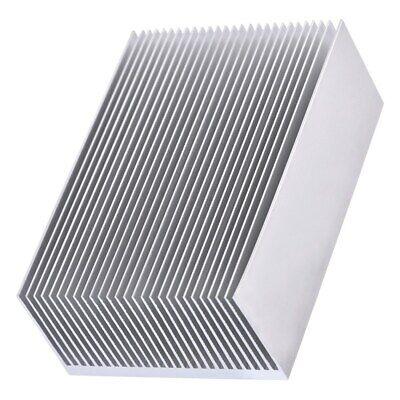 Heat Sink Heatsink Aluminum For Power Led Amplifier Transistor 100x69x36mm