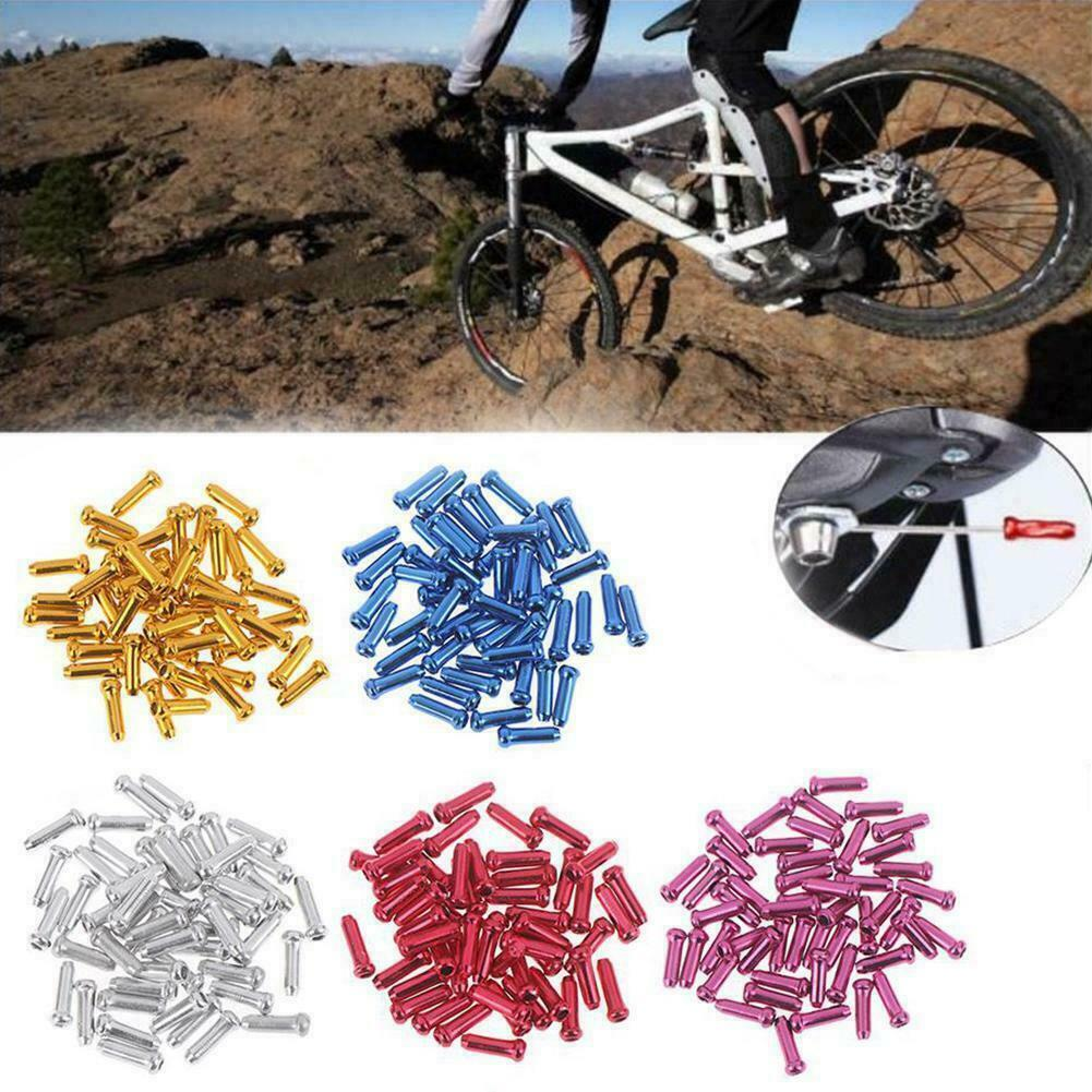 """V Brake Silver Noodles Cable Guide Mountain Road Bicycle Rear Front KK/"""" V0X5"""