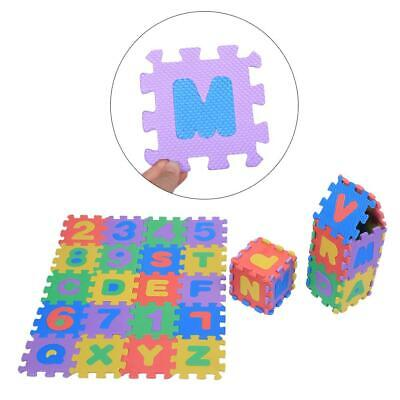 36PCs Children Alphabet Numbers Puzzle Crawling Foam Floor Mat Rug Education Toy