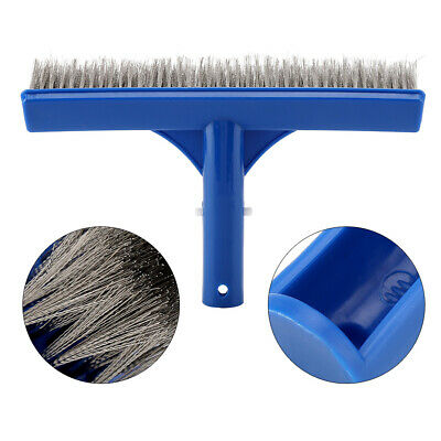 10in Swimming Pool Steel Brush Pond Spa Bottom Walls Cleaning Supplies