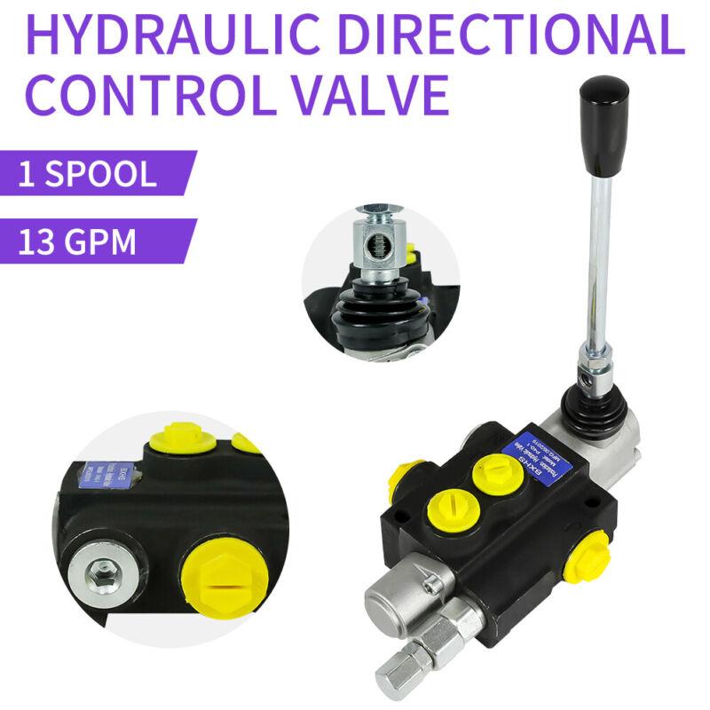 1 Spool Hydraulic Directional Control Valve 13Gpm, 3600PSI Monoblock Structure