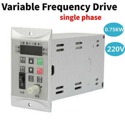 1hp Single To Single Phase Variable Frequency Drive Inverter Cnc Vfd 220v