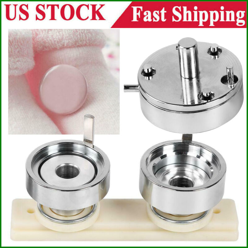 """Round Badges Die Mould Mold Parts for Badge Press Button Pin Maker Machine 2.28"""""""