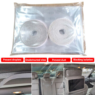 Plastic Bulkhead Partition Car Taxi Divider Film Antivirus PVC Taxi Uber Minicab