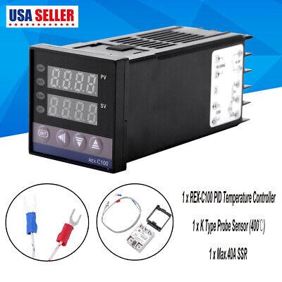 Ac 110v-240v Alarm Led Digital Temperature Controller Kits 01300 For Electric