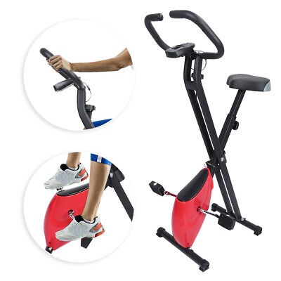 Foldable Exercise Bike Muscle Training Fitness Bicycle Stati