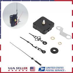DIY Wall Silent Quartz Clock Movement Mechanism Hands Wall Repair Tool Parts Kit