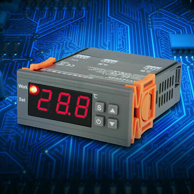 Digital Mh1210w Ac 110 220v Temperature Humidity Controller Thermostat W Probe