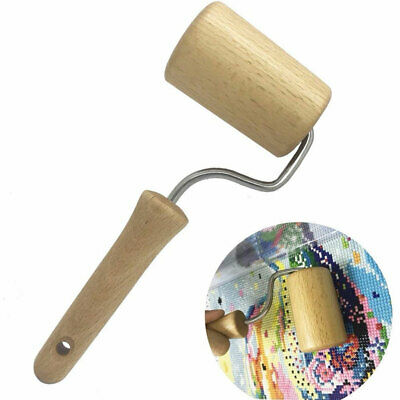 DIY Full Diamond Painting Wood Roller Rhinestone Embroidery Tightening Tool Well Crafts