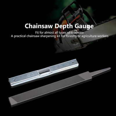 - New Depth Gauge Flat File Kit for General Chainsaw STIHL Chain Saw Raker File