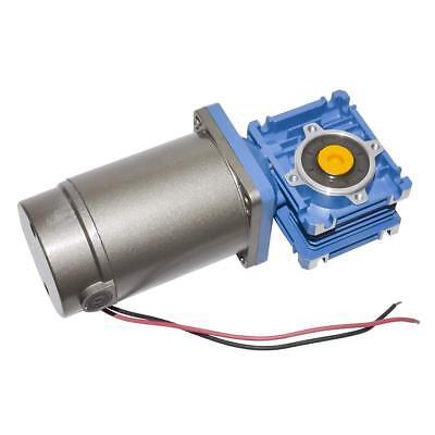 12v 24v 90volt 120w Turbine Worm Nmrv030 Gear Speed Reducer Electric Dc Motor