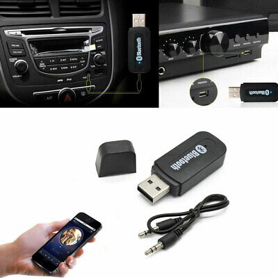 For Many Vehicles Bluetooth Stream Interface Aux in Jack MP3 USB CD Adapter
