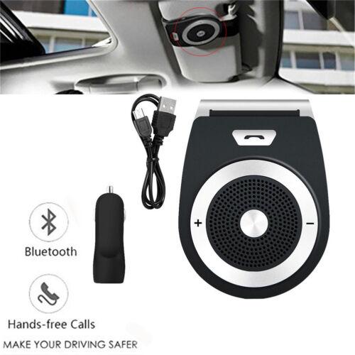Bluetooth Car Speakerphone Handsfree Sun Visor Car Kit for iPhone Samsung Huawei Car Speakerphones