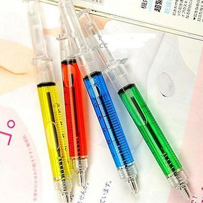 4Pcs Syringe Shape Pens Ball Point Pen Set Fashion Pens For Hospital Nurse Gift](Syringe Pen)