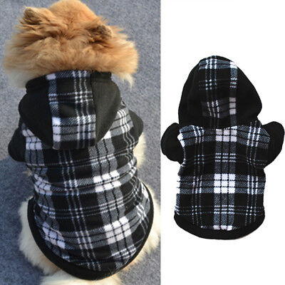 Pet Dog Hoodie Coat Jacket Puppy Cat Winter Warm Hooded Costume Apparel Healthy