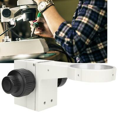 Stereo Microscope Adjusting Focus Arm Head Holder Ring Arbor Stand Bracket 76mm