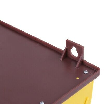 Pollen Trap Removable Yellow Plastic Pollen Trap With Ventilated Pollen Tray
