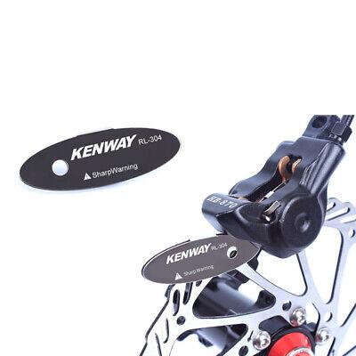 Bicicleta MTB Pastillas de Freno Rotor Herramienta Alineación Spacer Acero Nuevo