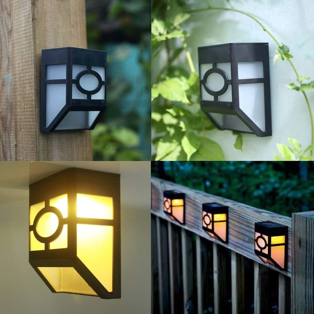 Solar Wall Mount LED Lights for House Wall Outdoor Landscape