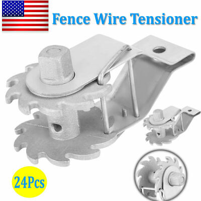 Insulated Wire Ratched Strainer 24pcs Fence Wire Tensioner Farm Electric Fence