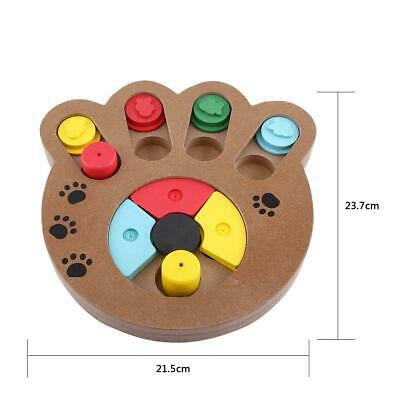 1Pc Puppy Multi-functional Interactive Food Treated Wooden Toy For Pet Dog & Cat