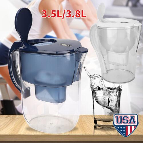 3.5/3.8L Alkaline Water Pitcher Jug Water Purifier Filter Fi