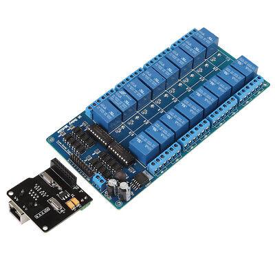 Ethernet Control Module Lan Wan Web Server Rj45 Port 16 Channel Relay Moudle